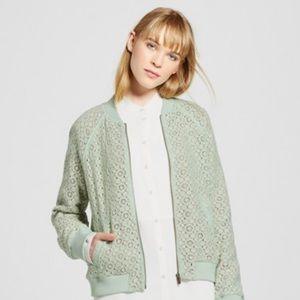 Victoria Beckham for Target Mint Lace Jacket